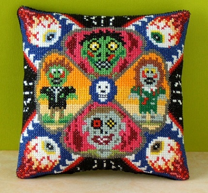 Zombie_Invasion_Mini_Cushion_Cross_Stitch_Kit