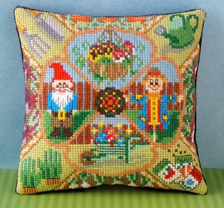 The_Gardener_Mini_Cushion_Cross_Stitch_Kit