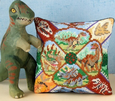 Dinosaurs_mini_cushion_cross_stitch_Kit