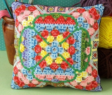 Granny_Squares_mini_cushion_cross_stitch_kit