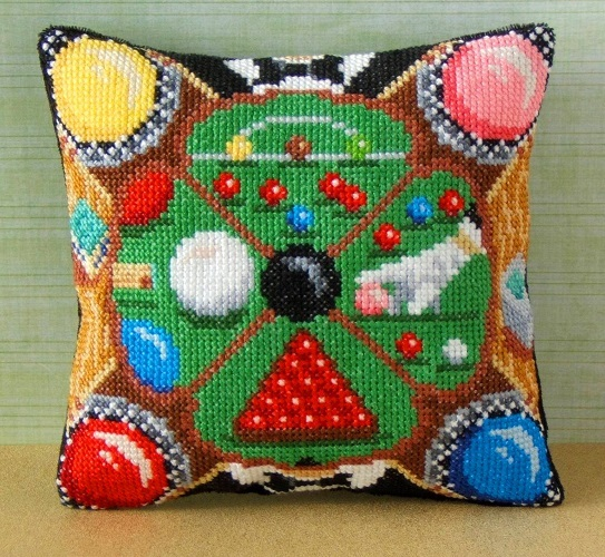 Snooker_Mini_Cushion_Cross_Stitch_Kit