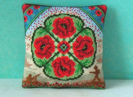 Remembrance_Mini_Cushion_Cross_Stitch_Kit