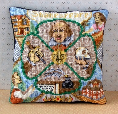 William Shakespeare Cross Stitch Kit