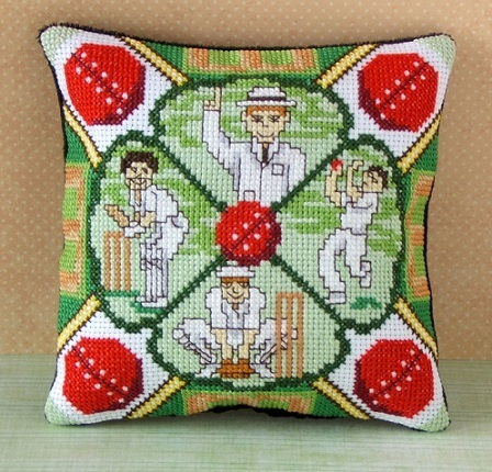 Cricket Mini Cushion Cross Stitch Kit
