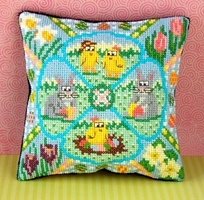 Easter_Garden_Mini_Cushion_Cross_Stitch_Kit