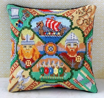 Vikings_Mini_Cushion_Cross_Stitch_Kit