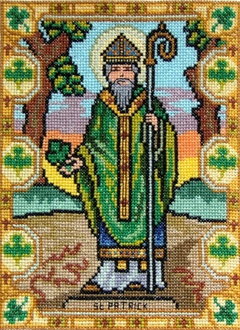 St_Patrick_cross_stitch_picture
