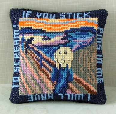 The_Scream_cross_stitch_kit
