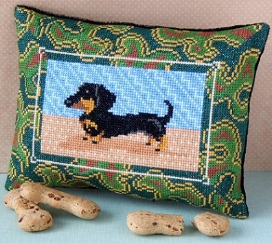 Dashing_Dachshund_Cross_Stitch_Kit