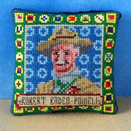 Robert_Baden-Powell_Cross_Stitch_Kit