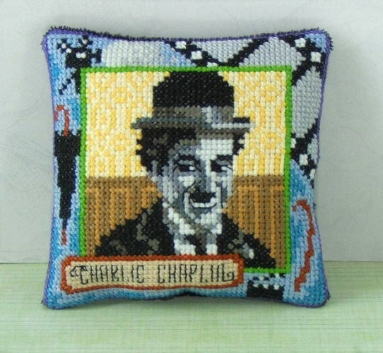 Charlie_Chaplin_Cross_Stitch_Kit