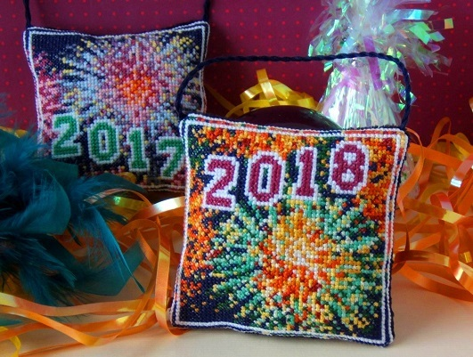 New_Year_2018_Cross_Stitch_Kit