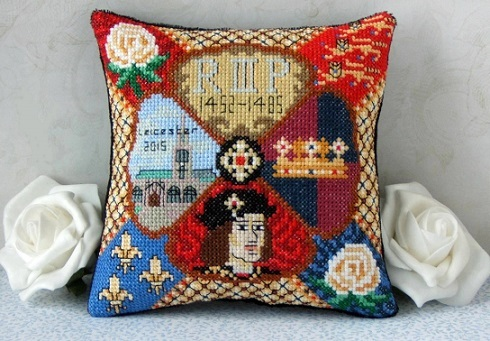 Richard_III_mini_cushion_cross_stitch_kit