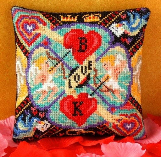 Cupids_Arrow_Mini_Cushion_Cross_Stitch_Kit