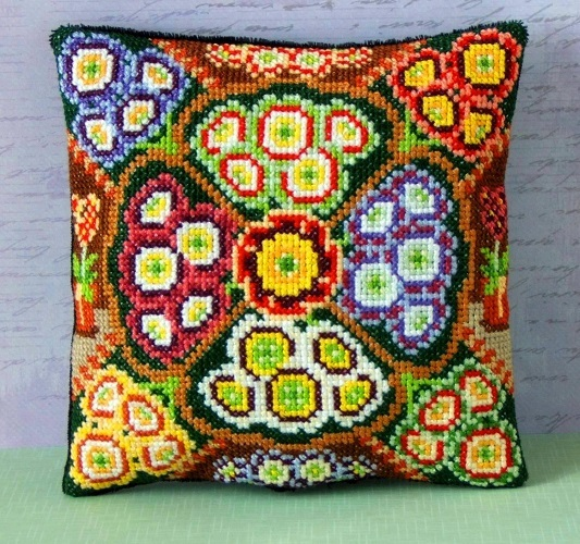 Auricula_mini_cushion_cross_stitch_kit