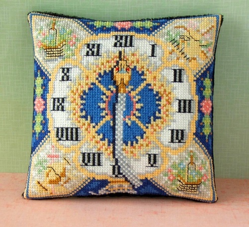 Blue_Serpent_Clock_Cross_Stitch_Kit