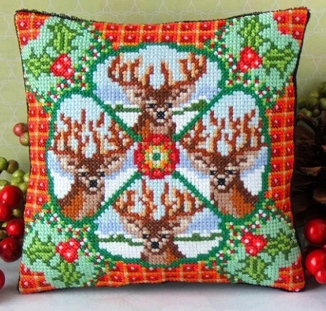 Christmas_Stags_Cross_Stitch_Kit