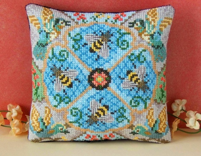 The_Bird_and_The_Bees_Cross_Stitch_Kit