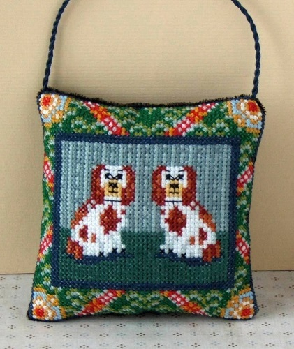 Vintage_Spaniels_Cross_Stitch_Kit