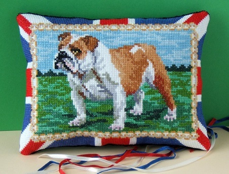 British_Bulldog_cross_stitch_kit