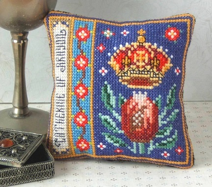 Catherine_of_Aragon_Cross_stitch_Kit