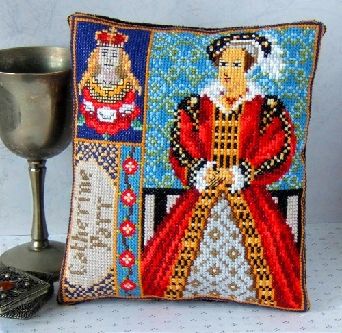 Catherine_Parr_Mini_Cushion_Cross_Stitch_Kit