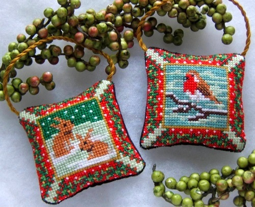 Country_Christmas_decorations_cross_stitch_Kit